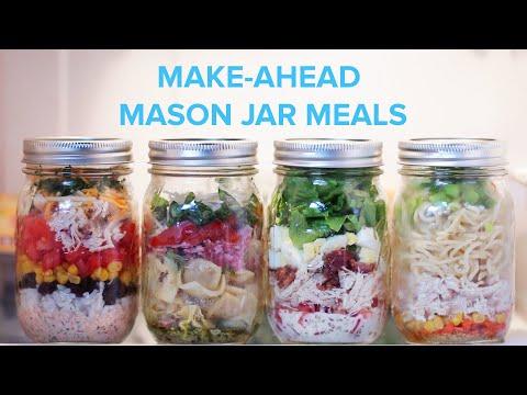 Make-Ahead Mason Jar Meals