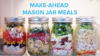 Make-Ahead Mason Jar Meals