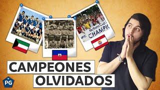 6 SELECCIONES que OLVIDASTE que FUERON CAMPEONAS (desaparecieron del fútbol)