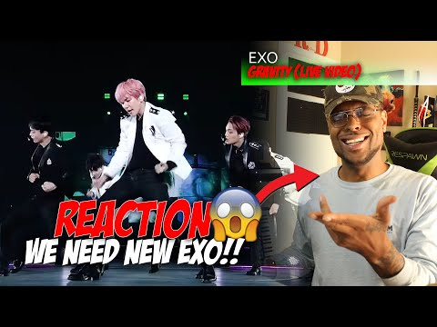 EXO(엑소)_ ' GRAVITY ' [live] || Reaction
