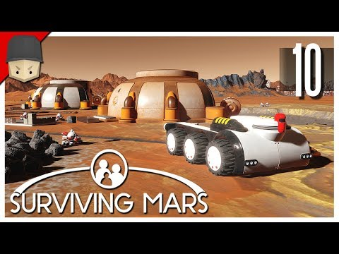 Surviving Mars - Ep.10 : MINING OUTPOSTS!