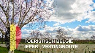 Toeristisch België - Ieper - Vestingroute