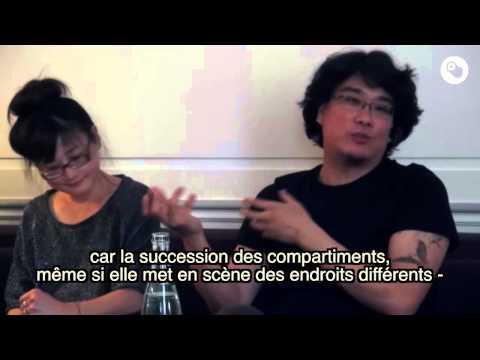 "Entretien avec Bong Joon Ho pour ""Snowpiercer, le Transperceneige"""
