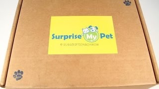 Surprise My Pet May 2016 Unboxing + Coupon