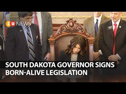 South Dakota governor signs Born-Alive legislation | SW NEWS | 202