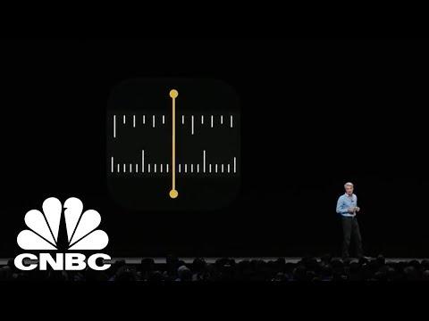 Apple Showcases Measure App | CNBC
