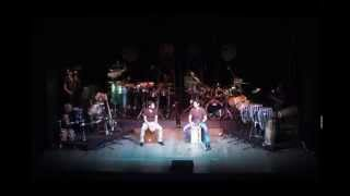 drums and bass concert / rhythms and grooves / percussion
