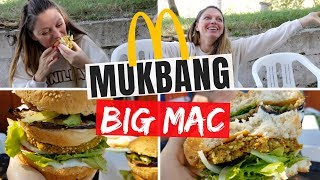 MUKBANG BIG MAC EATING SHOW + TEMPTATION ISLAND VIP 2018