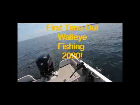 Walleye Fishing On Oneida Lake NY... First Outing For 2020