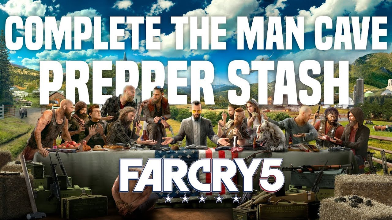 Man Cave Holland Valley : Get the man cave prepper stash farcry youtube
