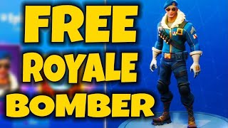 *GLITCH* HOW TO GET ROYALE BOMBER SKIN FOR FREE! IN FORTNITE BATTLE ROYALE! (ROYALE BOMBER SKIN)