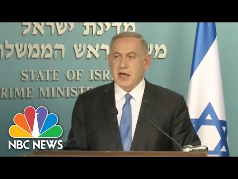 Benjamin Netanyahu: John Kerry's Speech Paid 'Lip Service' To 'Palestinian Terrorism' | NBC News