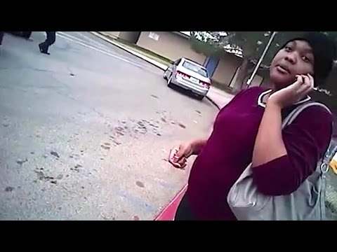 Police Tackle Pregnant Woman in Body Cam Video