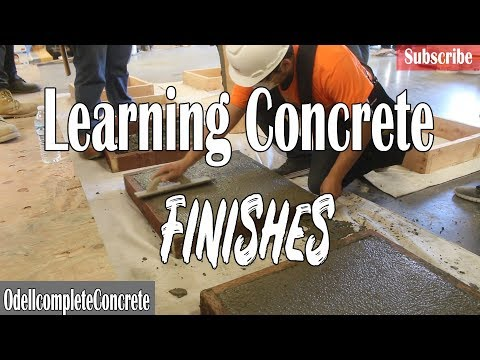 Beginners Learn How to Finish Concrete! Decorative Concrete DIY