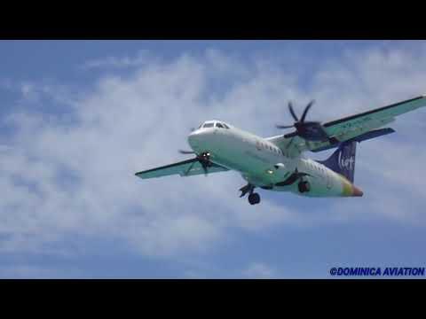 SXM Action: MD80 , Cessna Caravan , A319 , A330 , ATR..... @ the Princess Juliana Int'l Airport