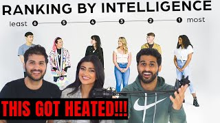 Ranking Strangers Intelligence | We get HEATED Over this!!! -Jubilee Reaction