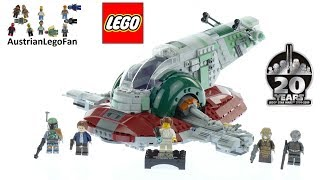 Lego Star Wars 75243 Slave 1 – 20th Anniversary Edition Speed Build