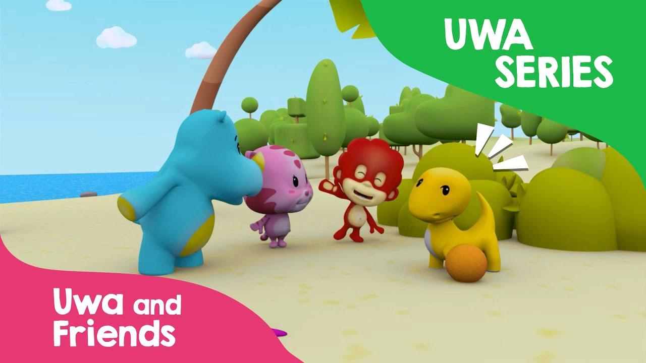 Uwa And Friends Menolong Komodo Full Animasi Anak Indonesia