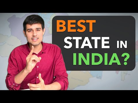 Which is the Best State in India? | Dhruv Rathee Analysis on Economy, Environment, Development