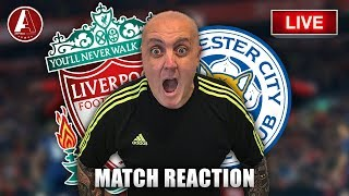 FRUSTRATION AT ANFIELD AS REDS DRAW | Liverpool 1-1 Leicester City Match Reaction