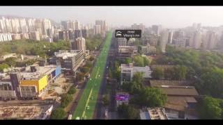 Godrej Emerald Thane Drone View