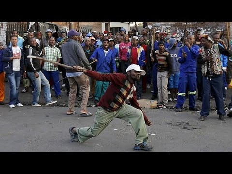 Foreigners flee xenophobic attacks in South Africa