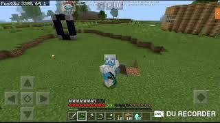 Minecraft aventura com os escritos construindo a nova casa #2