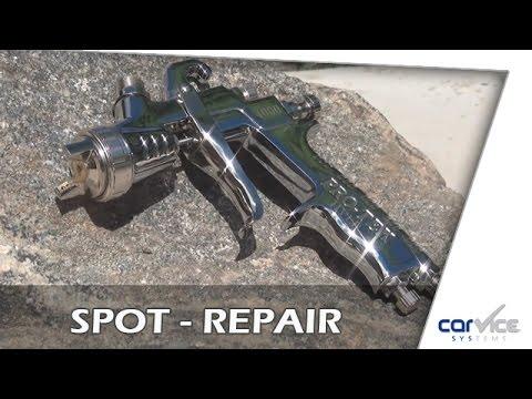 Produktvorstellung Spot Repair Hvlp Pistole Protek 2550