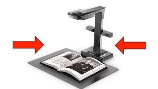 CZUR ET16 Plus Book Scanner REVIEW, Scan a 300 Page Book in 7 Minutes???