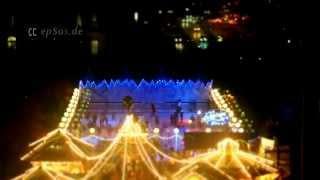 Christmas Market Lights Of Stuttgart In Germany
