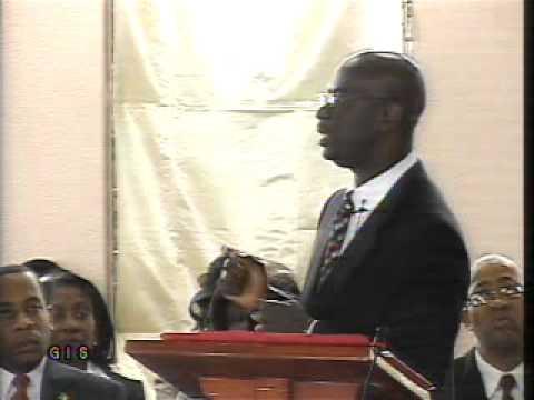 Hon. Nazim Burke - 2011 Budget Presentation  (part  1)