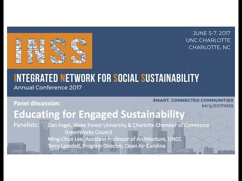 Educating for engaged sustainability at INSS 2017