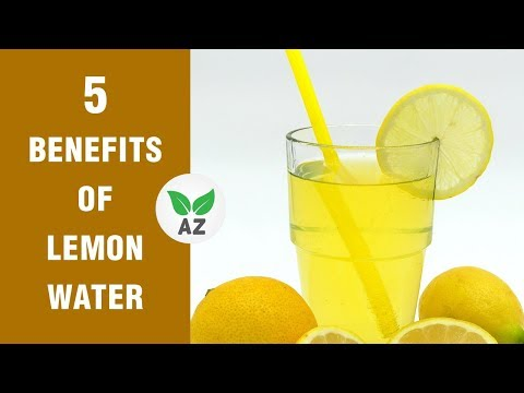 5 Health benefits of drinking lemon water every morning