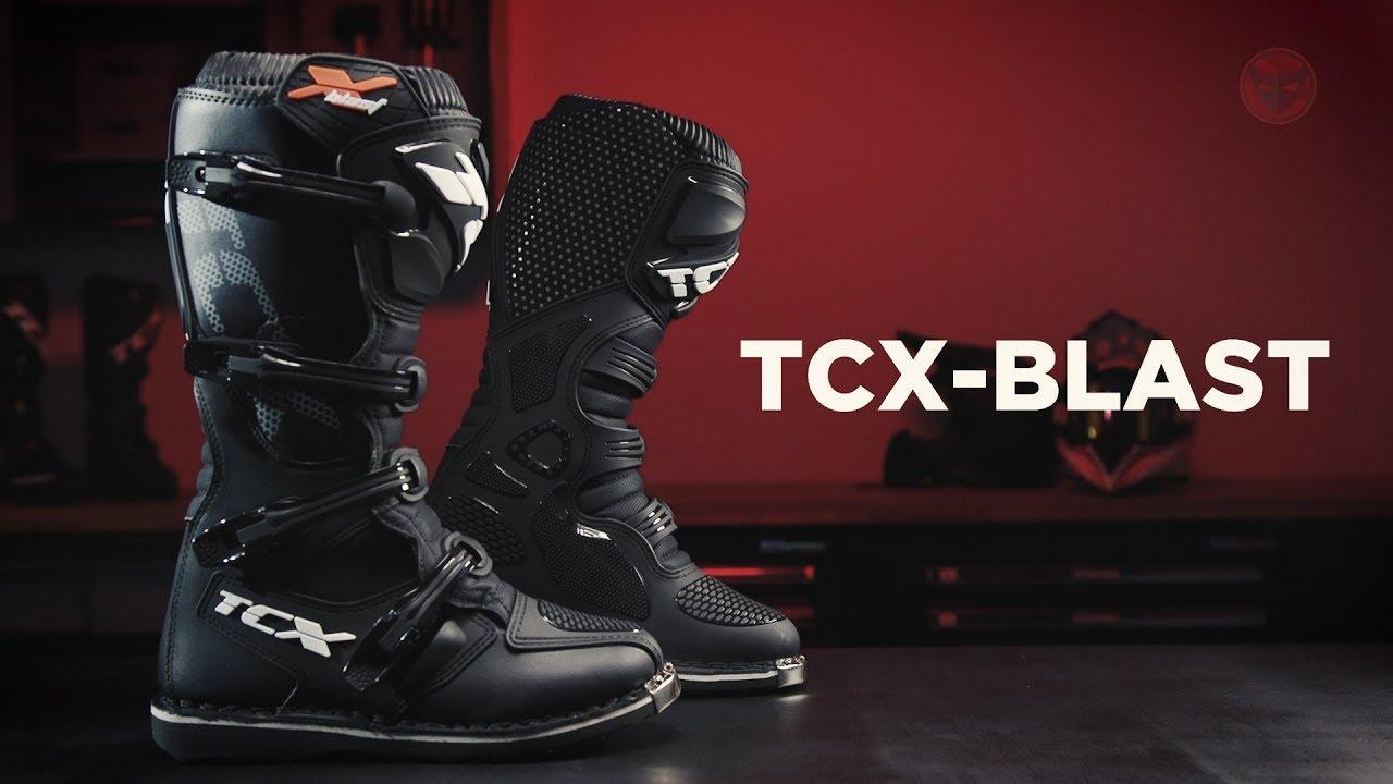 Bottes Cross TCX X Blast Noires 5% de réduction