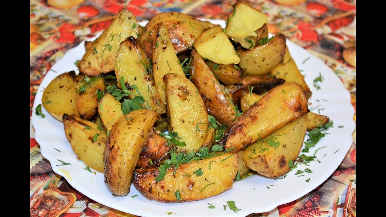 запекания картофеля в духовке фото рецепт