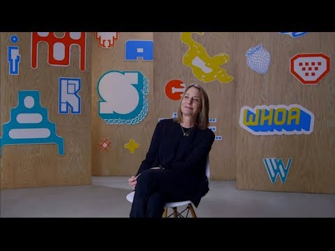"""Paula Scher  Designer as Educator"" Film and Panel with Paula Scher"