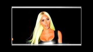 Kim Kardashian Presume Curvas De Infarto En El Minivestido De Látex