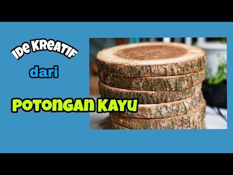 Ide Kreatif Dari Potongan Kayu (aRT.C)
