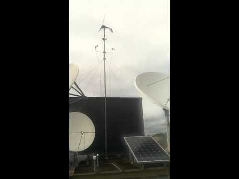 KSU Live Stream Wind Turbine and Solar Panels