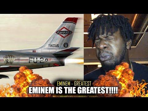 Eminem - Greatest (Kamikaze Album) REACTION!