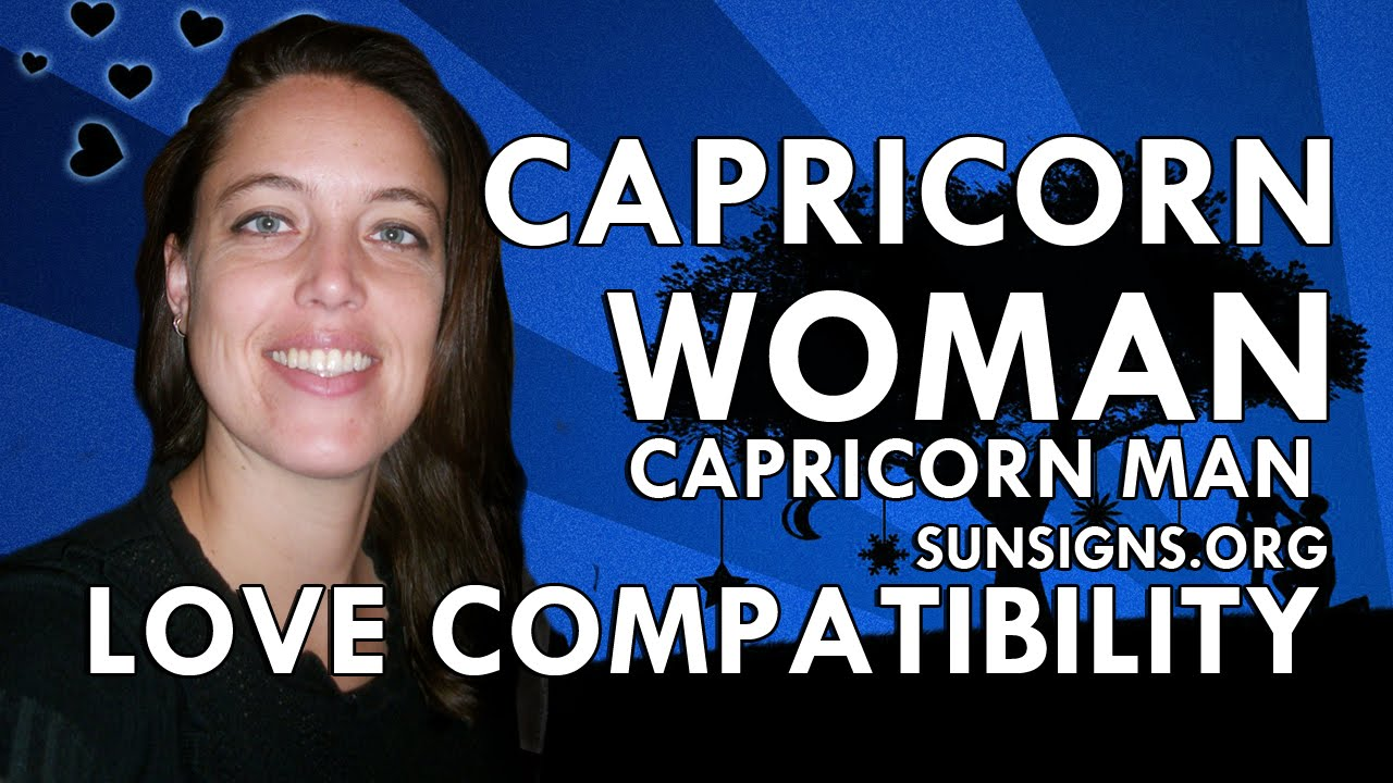 Capricorn man in love with capricorn woman