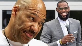 Lavar Ball NOT IMPRESSED With LeBron James!