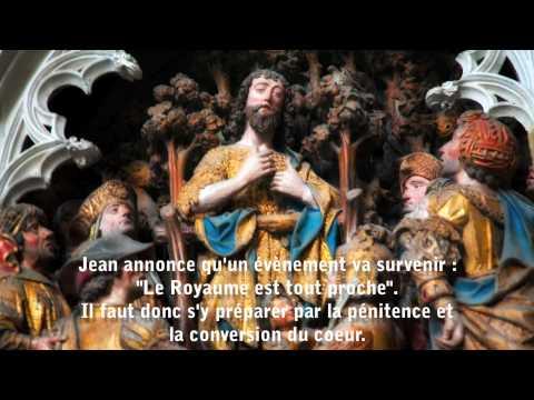 Gregorian Chant: the life of Saint John's the Baptist - La vie de saint Jean-Baptiste