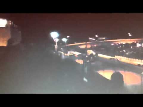 Controversial wreck at Laurens Speedway 5-12-12