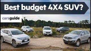 Everest vs Fortuner vs MU-X vs Pajero Sport vs Rexton 2019 comparison review