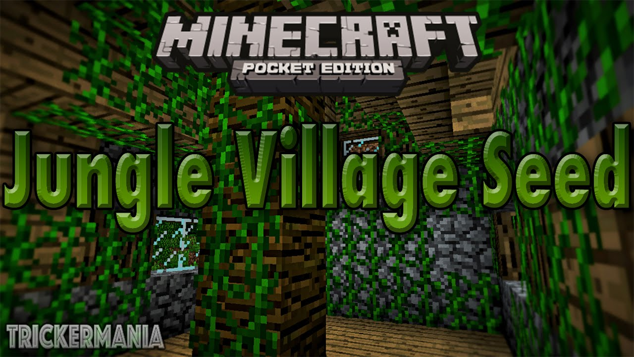 Minecraft pe seeds perfect desert seed with 3 villages and 2.
