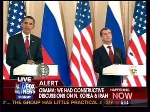 Presidents Obama and Medvedev offer to cut nuclear arsenals
