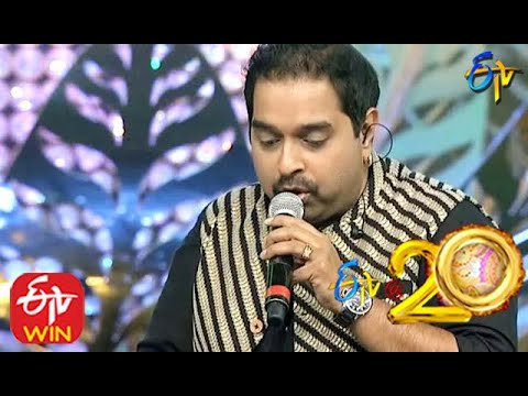 Shankar Mahadevan and Kalpana Performs - Uttimeeda Koodu Song in ETV @ 20 Years Celebrations