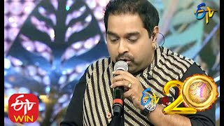 Shankar Mahadevan And Kalpana Performs Uttimeeda Koodu Song In ETV @ 20 Years Celebrations