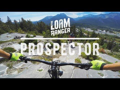 ALBERTA ROCK SLABS? // Mountain Biking Prospector Trail